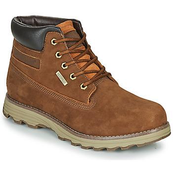 Sapatos Homem Botas baixas Caterpillar FOUNDER WP TX Castanho