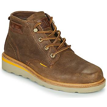 Sapatos Homem Botas baixas Caterpillar JACKSON MID Castanho