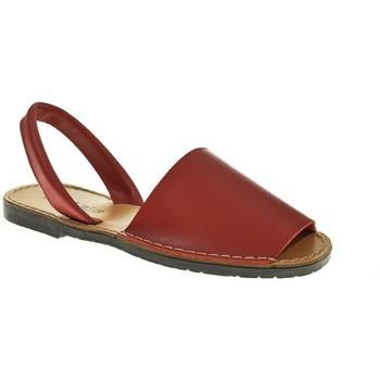Sapatos Mulher Sandálias Duendy 350 Rojo