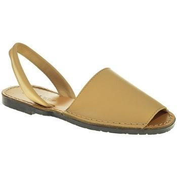 Sapatos Mulher Sandálias Duendy 350 Beige