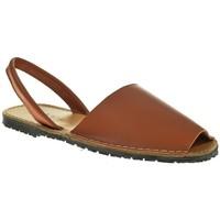 Sapatos Mulher Sandálias Duendy 350 Marrón