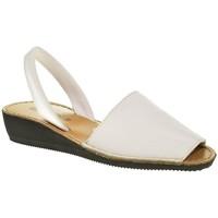 Sapatos Mulher Sandálias Duendy 1350 Blanco