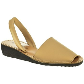 Sapatos Mulher Sandálias Duendy 1350 Beige