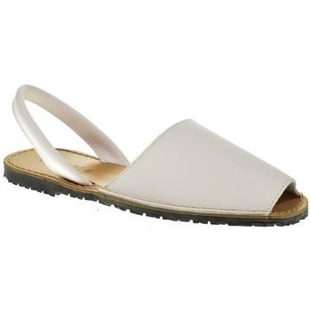 Sapatos Homem Sandálias Duendy 350 Blanco