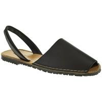 Sapatos Homem Sandálias Duendy 350 Negro