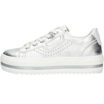 Sapatos Rapariga Sapatilhas Nero Giardini E031560F Prata