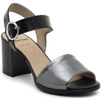 Sapatos Mulher Sandálias Dorking D8174-LATQ Preto