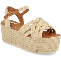 Sapatos Mulher Sandálias Buonarotti 1FF-0026 Beige