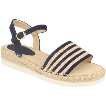 Sapatos Mulher Sandálias Suncolor 9085 Azul