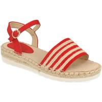 Sapatos Mulher Sandálias Suncolor 9085 Rojo