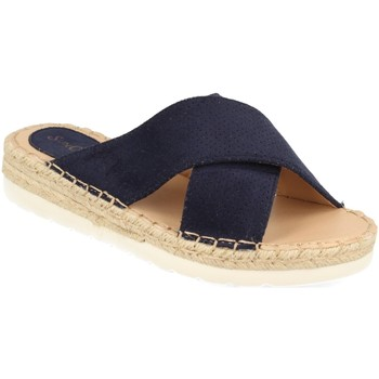 Sapatos Mulher Chinelos Suncolor 9082 Azul