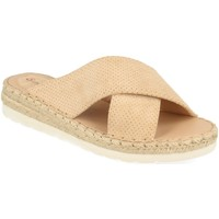 Sapatos Mulher Chinelos Suncolor 9082 Beige