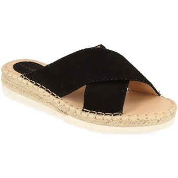 Sapatos Mulher Chinelos Suncolor 9082 Negro