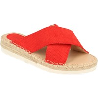 Sapatos Mulher Chinelos Suncolor 9082 Rojo