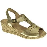 Sapatos Mulher Sandálias Duendy 3082 Plata