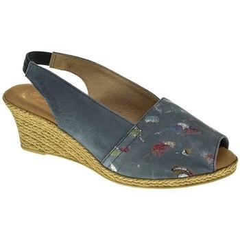 Sapatos Mulher Sandálias Duendy 517 Azul