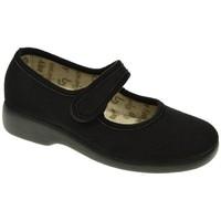 Sapatos Mulher Chinelos Garzon 3065 Negro