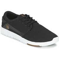 Sapatos Homem Sapatilhas Etnies SCOUT Preto / Branco