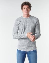 Textil Homem T-shirt mangas compridas Deeluxe MOHANSON Cinza