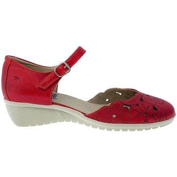 Sapatos Mulher Sandálias Fluchos Sandalias  F0183 Rojo Vermelho