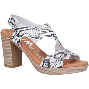 Sapatos Mulher Sandálias Oh My Sandals 4728-RE1CO Blanco