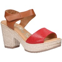Sapatos Mulher Sandálias Oh My Sandals 4709-CR4CO Rojo
