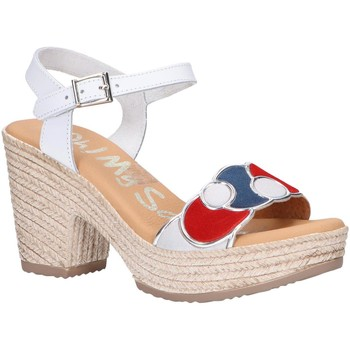 Sapatos Mulher Sandálias Oh My Sandals 4710-V1CO Blanco