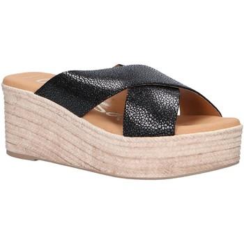 Sapatos Mulher Alpargatas Oh My Sandals 4723-CR2 Negro