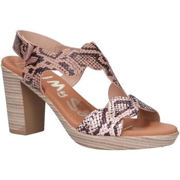 Sapatos Mulher Sandálias Oh My Sandals 4728-RE88CO Beige
