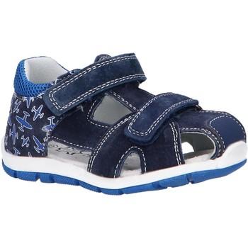 Sapatos Criança Sandálias desportivas Happy Bee B144194-B1392 Azul
