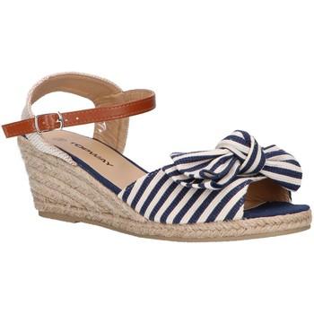 Sapatos Mulher Alpargatas Top Way B269193-B6600 Azul