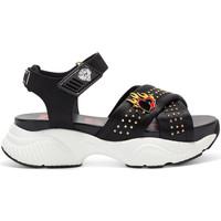 Sapatos Mulher Sandálias Ed Hardy Flaming sandal black Preto