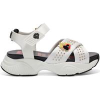 Sapatos Mulher Sandálias Ed Hardy Flaming sandal white Branco