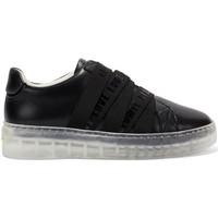 Sapatos Mulher Sapatilhas Ed Hardy Overlap low top black Preto