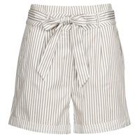 Textil Mulher Shorts / Bermudas Vero Moda VMEVA Branco / Azul