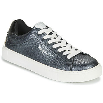 Sapatos Mulher Sapatilhas Pepe jeans ADAM SNAKE Cinza