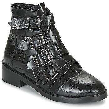 Sapatos Mulher Botas baixas Pepe jeans MALDON IMAN Preto