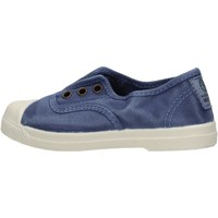 Sapatos Rapaz Sapatilhas Natural World - Scarpa elast blu 470E-628 BLU