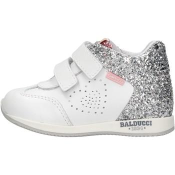 Sapatos Rapaz Sapatilhas de cano-alto Balducci - Polacchino bianco CSPO3905 BIANCO