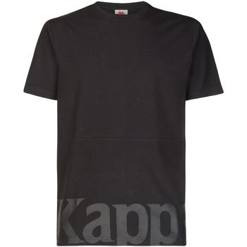 Textil Rapaz T-Shirt mangas curtas Kappa - T-shirt nero 304S430-005 NERO