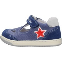 Sapatos Rapaz Sapatos Balocchi - Occhio di bue grigio 103222 BLU