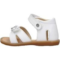 Sapatos Rapariga Sandálias Naturino - Sandalo bianco NYMERIA-0N01 BIANCO