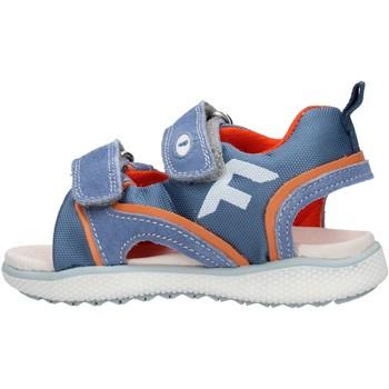 Sapatos Rapaz Sandálias Falcotto - Sandalo celeste/arancione ATALYN-1C52 CELESTE