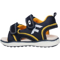 Sapatos Rapaz Sandálias Falcotto - Sandalo blu/giallo ATALYN-1C67 BLU