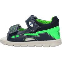 Sapatos Rapaz Sandálias Falcotto - Sandalo blu KNIK-1C38 BLU