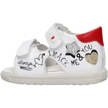 Sapatos Rapariga Sandálias Falcotto - Sandalo bianco NORTE-1N16 BIANCO