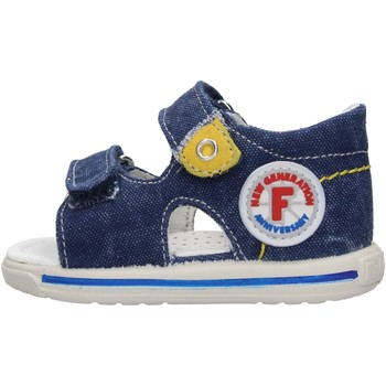 Sapatos Rapaz Sandálias Falcotto - Sandalo jeans NEMO-0C06 BLU