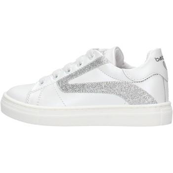 Sapatos Rapaz Sapatilhas Balducci - Sneaker bianco BUTT1570 BIANCA