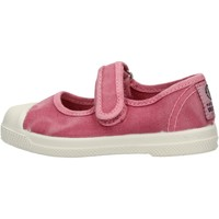 Sapatos Rapariga Sapatilhas Natural World - Scarpa velcro rosa 476E-603 ROSA