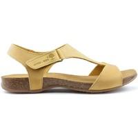Sapatos Mulher Sandálias Interbios SANDÁLIAS ANATÔMICAS INTERMEDIÁRIAS 4420 YELLOW